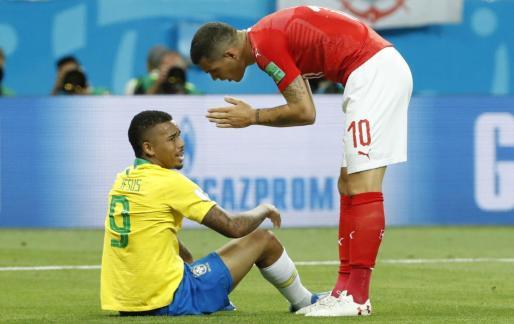 Brasil ha decepcionado en su debut en el Mundial de Rusia.