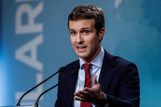 El vicesecretario de Comunicación del PP, Pablo Casado.