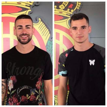 Dani Rodríguez y Sergio Buenacasa, las primeras piezas del nuevo Mallorca.