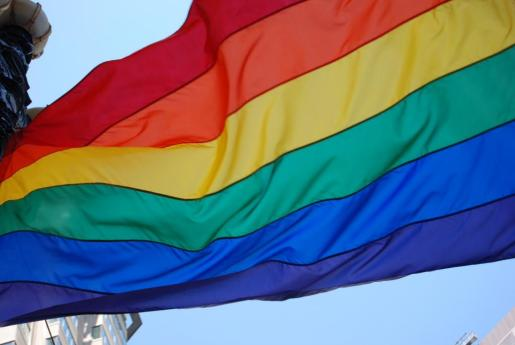 Bandera del colectivo LGTBI.