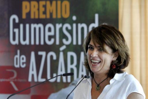 La ministra de Justicia, Dolores Delgado.