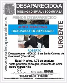 Encuentran al niño desparecido en Santa Coloma de Gramanet