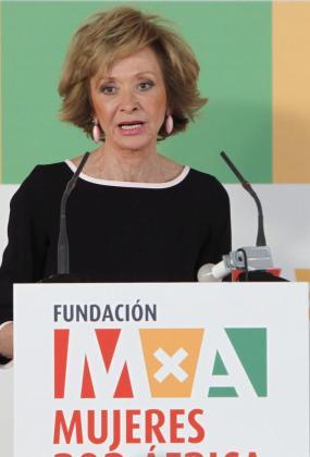 María Teresa Fernández de la Vega, en una imagen de 2012.