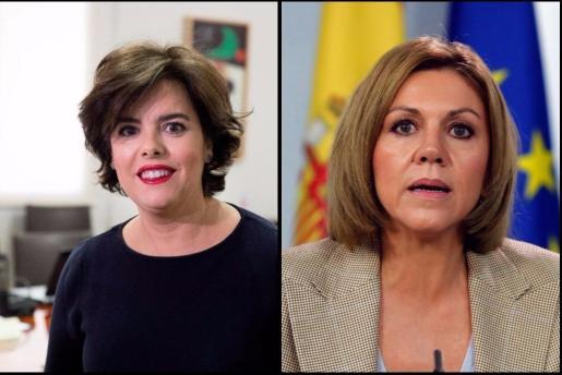 Sáenz de Santamaría y Cospedal, dos mujeres enfrentadas por un mismo reto.