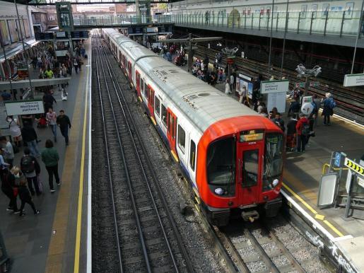 Imagen de archivo del tren de Londres.