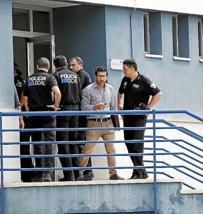 La Guardia Civil registró el cuartel en el año 2013.