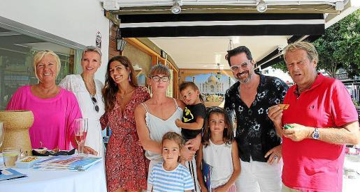 Silvia Conet du Vivier, Brint Jong, Lilly Hess Antic, Veronika Blazkova y Lorentzo, Nero y Galaxia, Alex Jong y Alexandre Conet du Vivier.