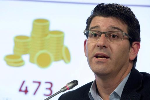 El presidente de la Diputación de Valencia y alcalde de Ontinyent, Jorge Rodríguez, del PSPV-PSOE, que ha sido detenido en el marco de la operación Alquería contra la corrupción que coordina un juzgado de Valencia.