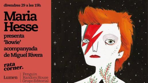 La ilustradora Maria Hesse presentará su libro en Rata Corner.