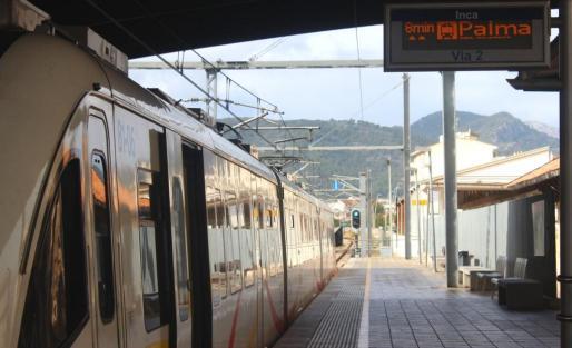 Estación de Inca.