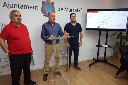 Imagen de archivo de el alcalde de Marratxí durante una rueda de prensa.