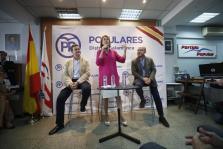 Encuentro de Cospedal con afiliados del Distrito de Salamanca
