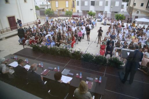 Ceremonia de Graducación en el Centro de Enseñanza Superior Alberta Giménez.