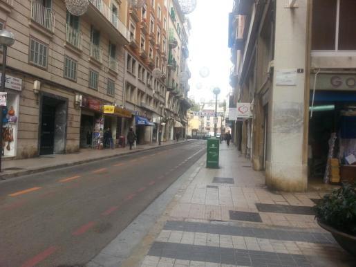 Calle Velázquez de Palma.