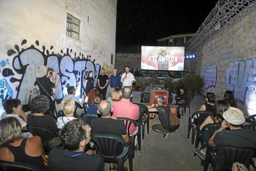 El foso de la antigua cárcel fue un escenario 'de cine' para el Atlàntida Film Fest.
