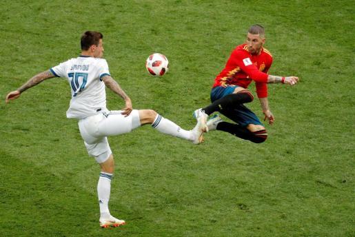 España, eliminada por Rusia en la tanda de penaltis