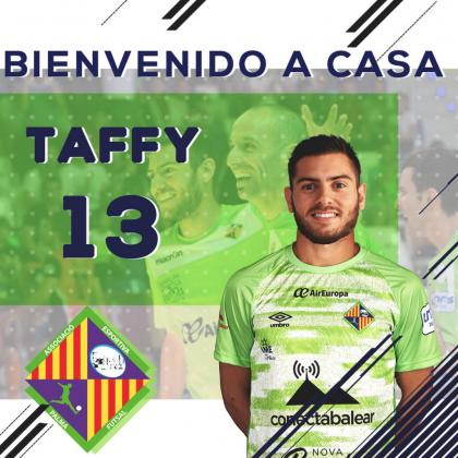 Bruno Taffy pone la guinda a la plantilla del Palma Futsal