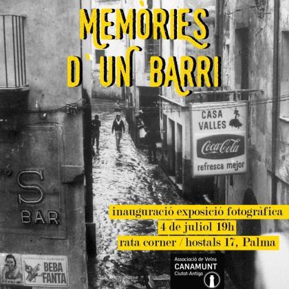'Memòries d'un barri' es una exposición que se puede ver en Rata Corner.