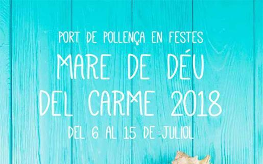 El Port de Pollença vive sus fiestas del Carme 2018.