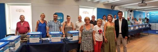 Con el 50 % de los votos escrutados, Pablo Casado lidera la votación en Baleares.