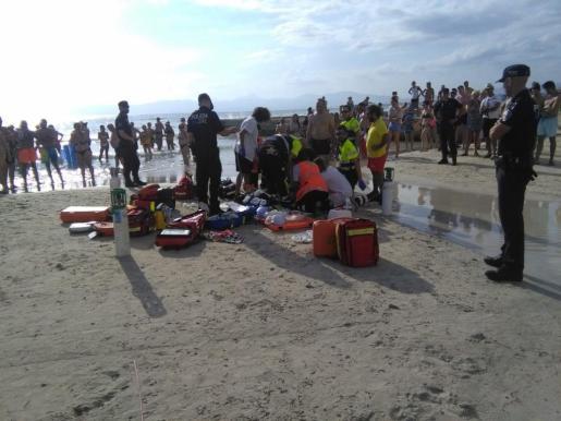 Los servicios de emergencias han atendido al turista.
