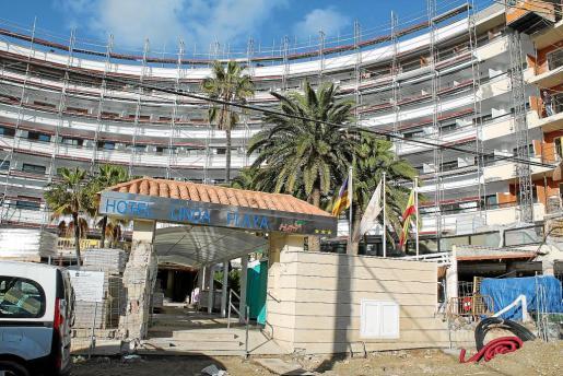El Hotel Linda Playa de Peguera, que pertenece a la cadena HSM, experimentó una reforma integral el pasado invierno.