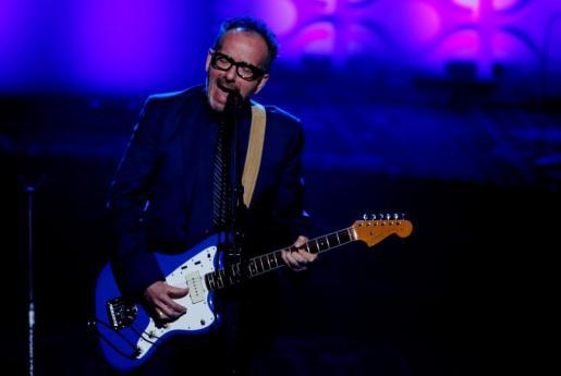 Elvis Costello, durante un concierto en Nueva York hace dos años.