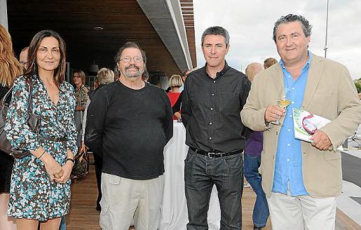 Tonina Bestard, Xavier Llull, Guillem Crespí y Ramón Servalls.