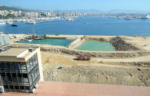 La obra supondrá una prolongación de 371 metros en la línea de atraque del muelle.