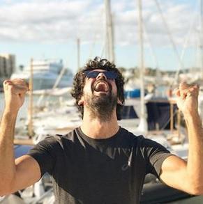 Miguel Ángel Muñoz se encuentra de vacaciones en Ibiza.