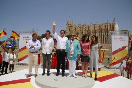 El portavoz econacionalista ha comentado el acto organizado por el partido de Albert Rivera.