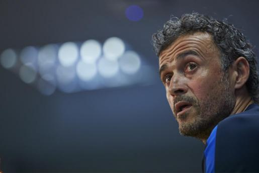 Luis Enrique, en su época de entrenador del FC Barcelona.