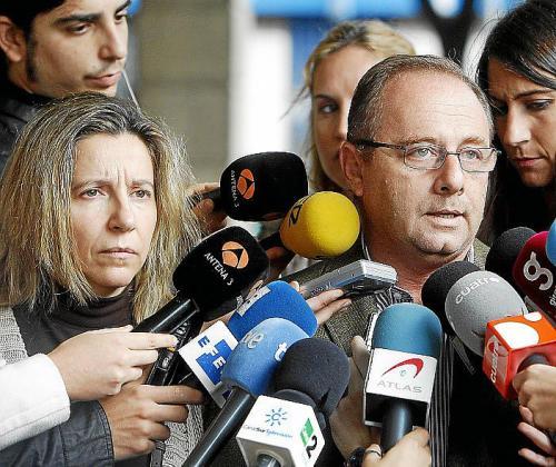 Los padres de Marta del Castillo, Eva y Antonio.