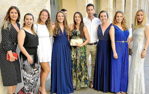Lorena Redondo, Magdalena Palou, Sara Miró, Joana Mateu, Sara Díaz, Pepe Barceló, Mica Ruiz, Annbella Lynch y Daniela Mindru.