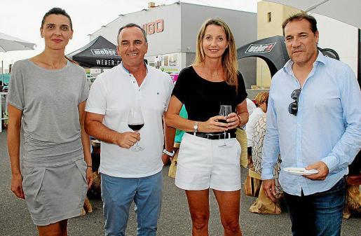 Monika Melaniuk, Miguel Ángel Bestard, Estelle Genin y Julio Garmendía.