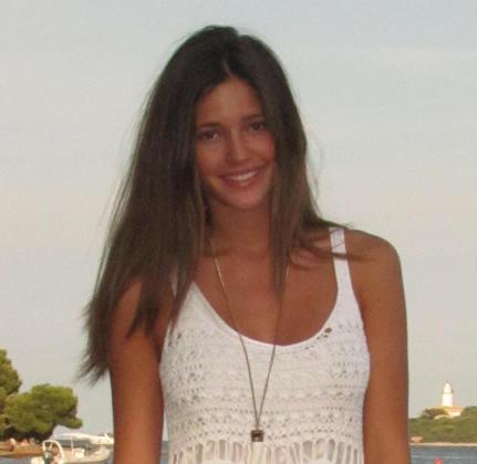 La modelo mallorquina Malena Costa.
