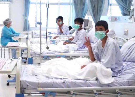 «La mayoría de los niños perdió un promedio dos kilos», dijo un inspector del departamento de salud de Tailandia.
