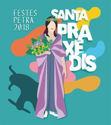 Fiestas de Santa Praxedis de Petra 2018.