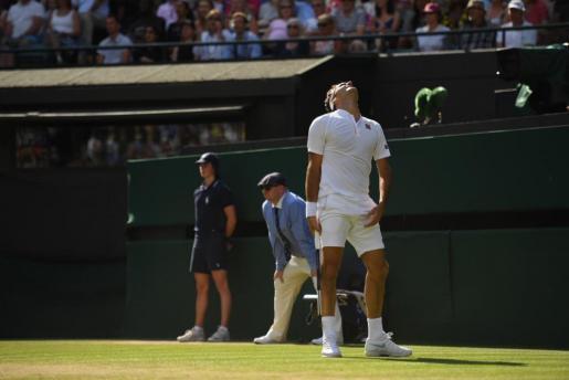 Federer desperdició un 2-0 a favor y una bola de partido.