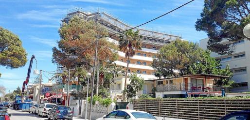 El crecimiento de la planta hotelera se ha debido en parte a las obras de ampliación autorizadas por la 'ley Delgado'.