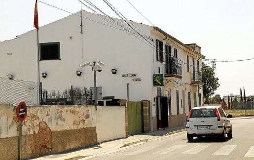 El cuartel de Marratxí está ubicado en el Pont d'Inca y se encuentra en un estado lamentable.