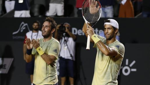 Los tenistas españoles cayeron en primer ronda.