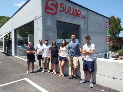 Suliar S.A., empresa dedicada a la venta de materiales de construcción.