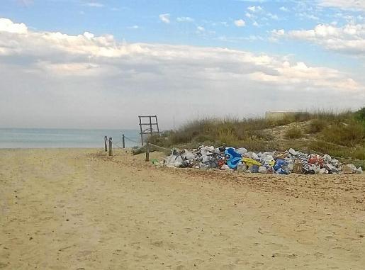 La basura que se acumuló en algunos puntos fue retirada tras las denuncias en las redes.