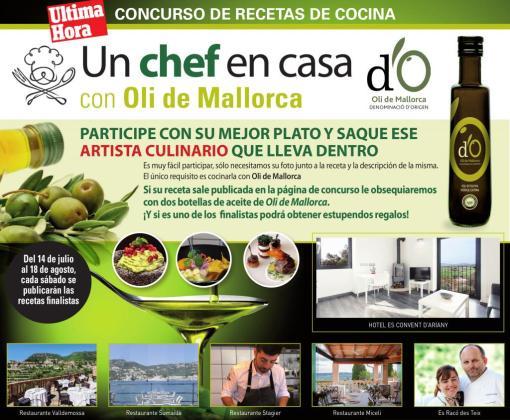 El concurso 'Un chef en casa' llega este 2018 con diversos premios.