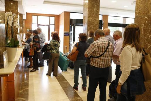 Imagen de archivo de turistas del 'Imserso'.