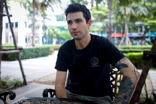 El buzo español Fernando Raigal.