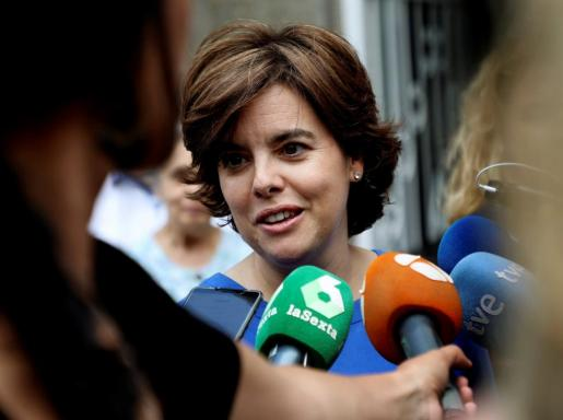 """La candidata a la Presidencia del PP deseó que no se produzcan más videos """"desagradables"""" y descalificatorios contra ninguno de los aspirantes."""