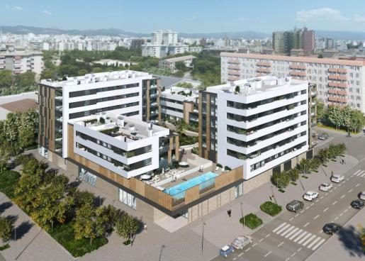 Mediterrània 1, el primer proyecto de viviendas de Gestilar en Mallorca, se desarrolla en la conocida área de Nou Llevant.