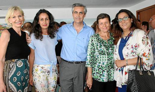 Birthe Gragelund, Pazik Smahane, Michel Magnier, Carmen Serra y Nezha Attahar.